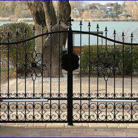 Brama dwuskrzydłowa 3