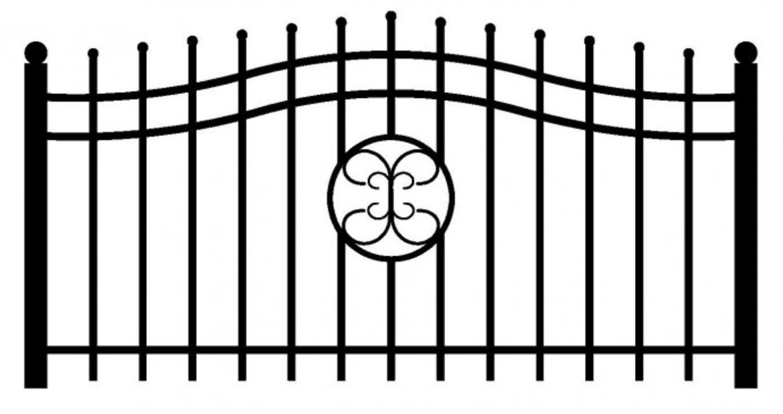 Model ogrodzenia 5