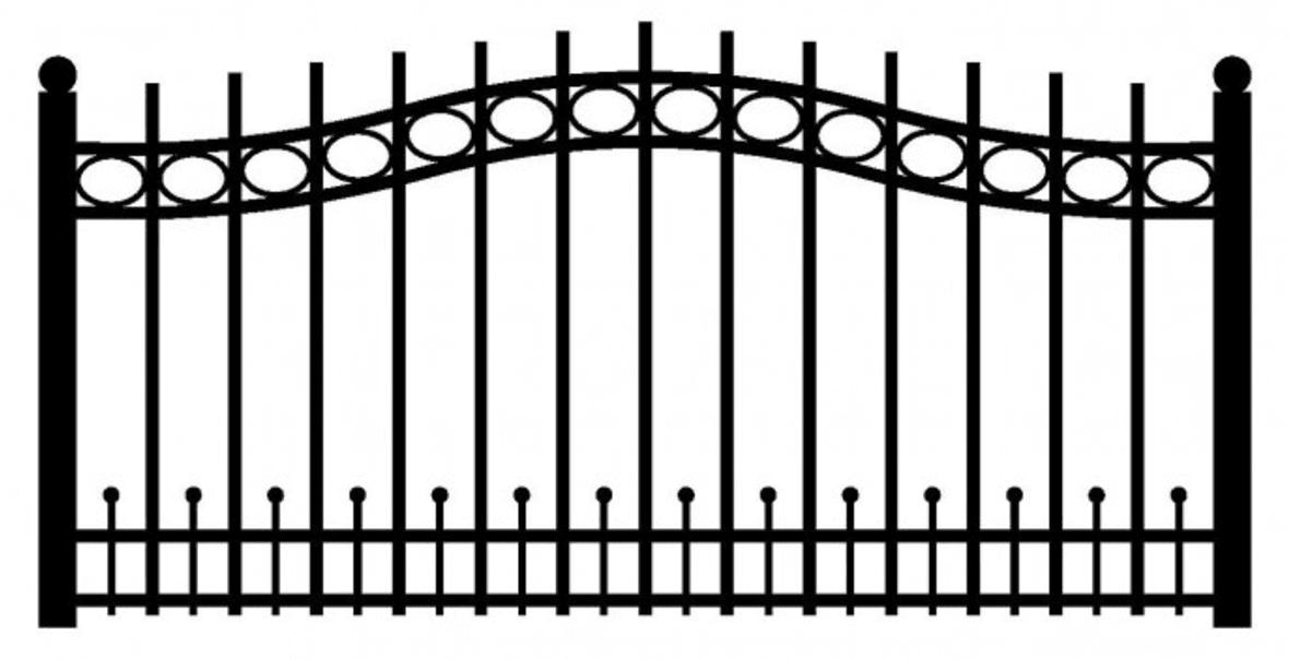 Model ogrodzenia 6