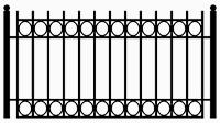 Zaun Muster 12