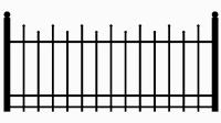 Zaun Muster 8