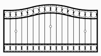 Zaun Muster 9